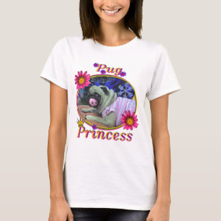 Princesa do Pug Tshirt