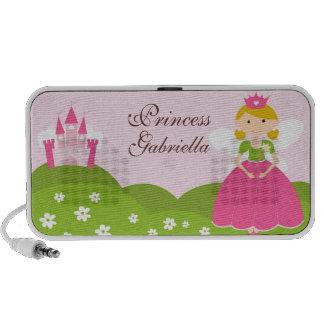 Princesa Doodle Costume Auto-falante Personalized Caixinhas De Som Para Pc
