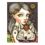 Princesa Elaine e Thibault o sem medo Cartão Postal