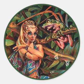 Princesa Etiqueta do duende Adesivo