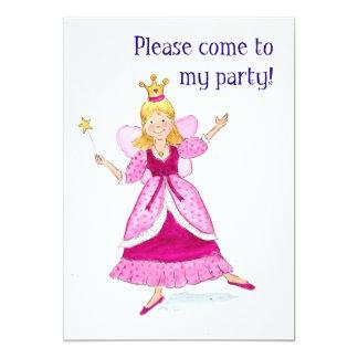 Princesa feericamente convite de festas