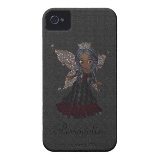 Princesa feericamente gótico bonito Blackberry Cor Capa iPhone 4 Case-Mate