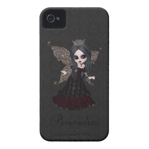 Princesa feericamente gótico bonito Blackberry Cor iPhone 4 Capas