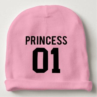 princesa gorro para bebê