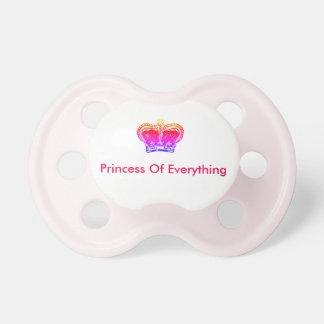 Princesa Manequim Chupeta Para Bebê