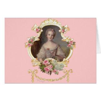 Princesa nova Louise Marie do cartão de France