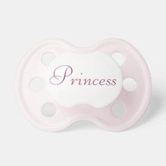 Princesa Pacifier Chupeta De Bebê