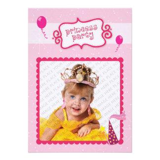Princesa Partido Convites Personalizado