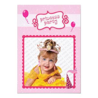 Princesa Partido Convite 12.7 X 17.78cm