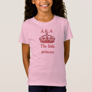 Princesa pequena - t-shirt