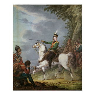 Príncipe Jozef Antoni Poniatowski 1809-13 Poster