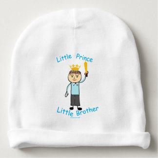 Príncipe pequeno irmão mais novo gorro para bebê