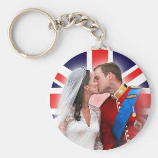 Príncipe William & chaveiro real do casamento de K