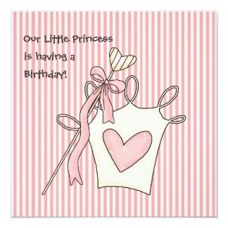 Príncipes pequenos Aniversário Convite