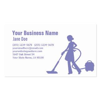 Pro cartão de empresa de serviços da limpeza da cartão de visita