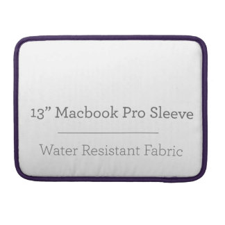 Pro luva do costume 13in Macbook Bolsas Para MacBook Pro