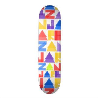Pro modelo de Jarb - de Zan Shape De Skate 19,7cm