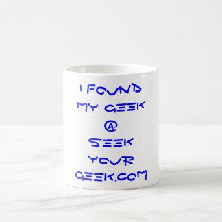 Procure sua caneca do geek