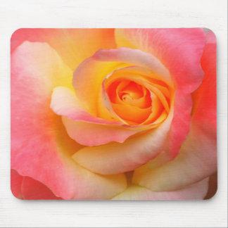 Produtos alaranjados, amarelos, e do rosa do rosa  mouse pad