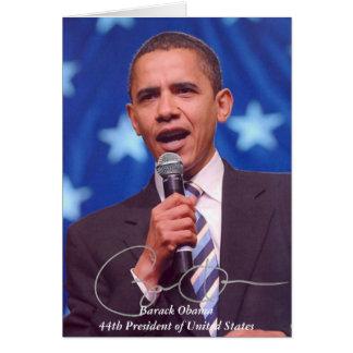 Produtos comemorativos presidenciais cartão de nota