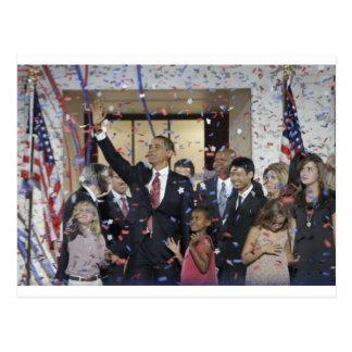 Produtos comemorativos presidenciais cartão postal