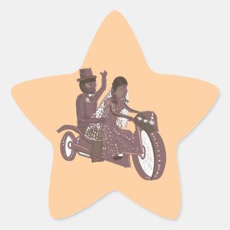 Produtos do casamento do motociclista adesito estrela