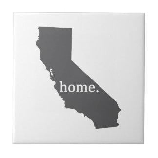Produtos Home de Califórnia Azulejo Quadrado Pequeno
