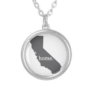 Produtos Home de Califórnia Colar Banhado A Prata