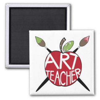 Professor de arte Apple & escovas de pintura pinta Imas