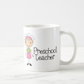 Professor pré-escolar canecas