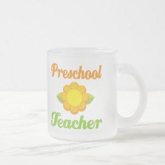 Professor pré-escolar caneca