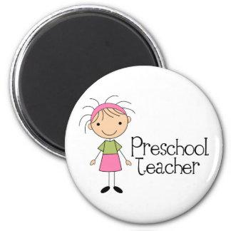 Professor pré-escolar ima de geladeira