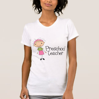 Professor pré-escolar t-shirt