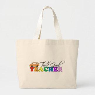Professor terceiro grau bolsas para compras