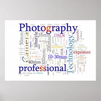 Profissional da fotografia posters