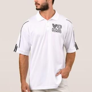 Profissional da pilha de Voca T-shirt Polo