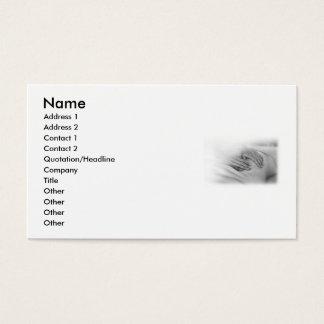 Profissional do cartão de visita da massagem
