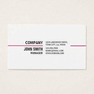 Profissional elegante do Cosmetologist do Cartão De Visitas