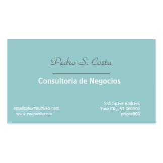 Profissional macio/azul do Entreprise do Cartão De Visita