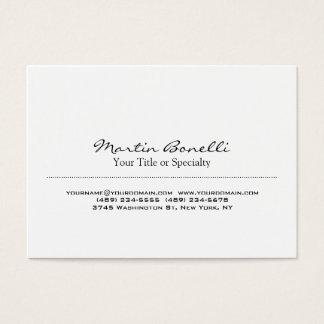 Profissional original especial na moda cartão de visitas