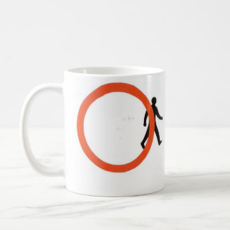 Proibição transversal caneca de café