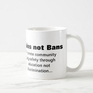 Proibições dos cérebros não caneca de café