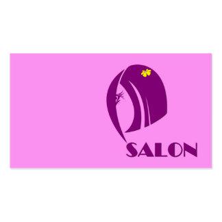 Projete o cartão de visita do cabeleireiro