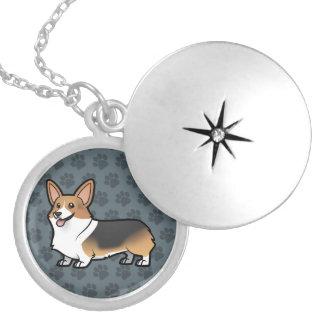 Projete seu próprio animal de estimação colar medalhão