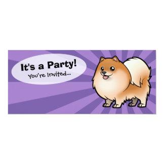 """Projete seu próprio animal de estimação convite 10.16"""" x 23.49cm"""
