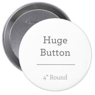 Projete seu próprio botão bóton redondo 10.16cm