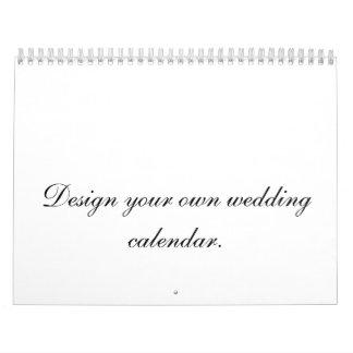 Projete seu próprio planejador ou presente do calendário
