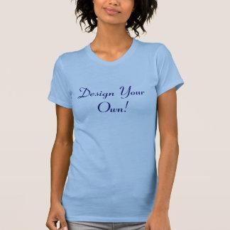 Projete seus próprios azul de oceano e meia-noite tshirts