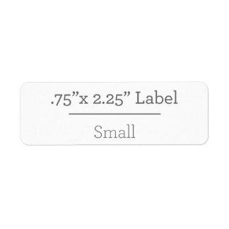 Projete sua própria etiqueta 8,5 x 11