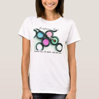 promocional moderno do negócio do maquilhador tshirts